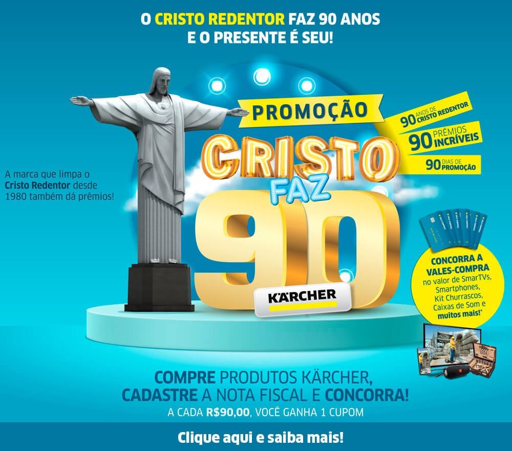 Promoção Cristo Faz 90