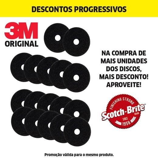 DISCO PAD PRETO REMOVEDOR - 300MM