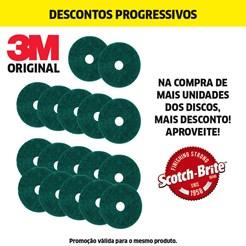 DISCO PAD VERDE LIMPADOR - 350MM