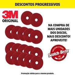 DISCO PAD VERMELHO RUBI - 355MM