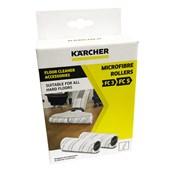Produto ESCOVA ROLO MICROFIBRA KARCHER FC3 / FC5 - KIT 2 PEÇAS