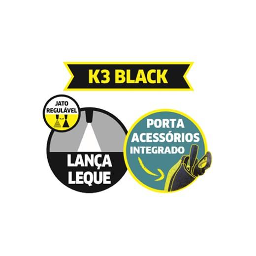 LAVADORA DE ALTA PRESSÃO KARCHER K 3 BLACK