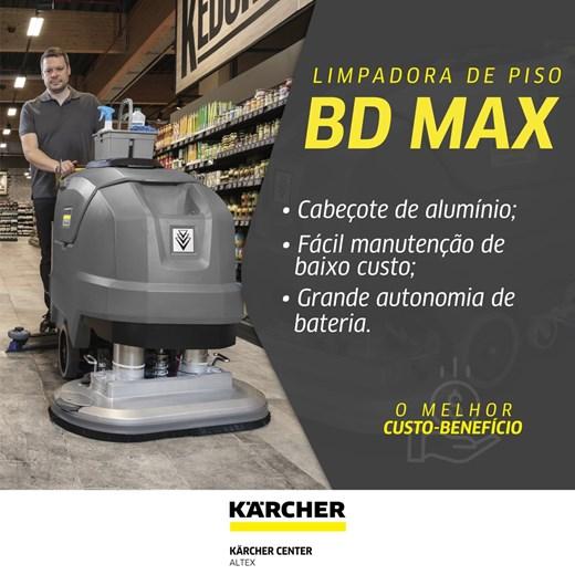 LAVADORA E SECADORA DE PISO KARCHER BD MAX