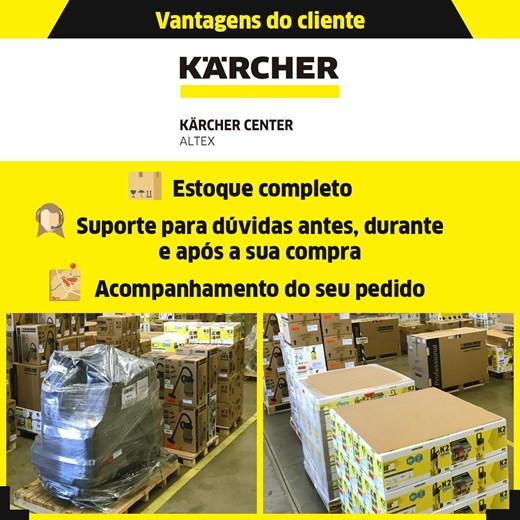 VARREDEIRA MANUAL KARCHER S4 TWIN COM 3 ESCOVAS